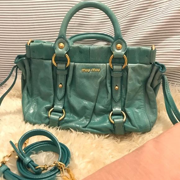 086e3871dd51 Miu Miu Vintage Two Way Handbag RT0383. M 5aefae475521bece95b2edfb. Other  Bags ...